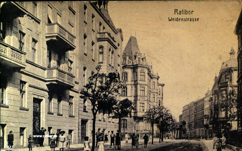 Weidenstrasse in Ratibor